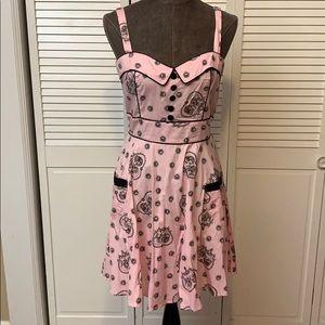 Hell Bunny Keepsake Heart Dress Size Large